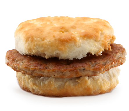 mcdonalds-Sausage-Biscuit-Regular-Size-Biscuit